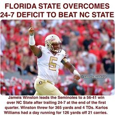 GAME 4: COMEBACK WIN: Great come from behind win for the Noles over NC State!! | FSU-56 NC State-41