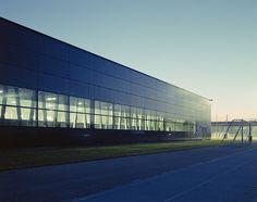 Pfaffenholz sport centre - architecture by Herzog & deMeuron