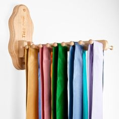 Awesome Wall mount flip down tie rack for the hubby only $23.95 at ...
