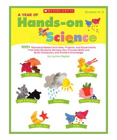 A Year of Hands-on Science Paperback by Scholastic Teaching Resources