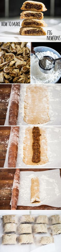 How To Make Fig Newtons With All-Natural Ingredients - #Desserts, #Food, #Recipes - FoodOMG.Com