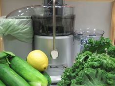 In the Reboot Kitchen: Morning Green Glory Juice | Reboot With Joe  4 – 5 large kale leaves 1 large handful of spinach 3 romaine leaves 1 cucumber 3 celery stalks 1 green apple 1 lemon, peeled (You can leave the peel on but it will taste very bitter)