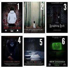 Eu não consigo assistir nem sexta-feira 13, mas, ainda to procurando esses filmes para assistir