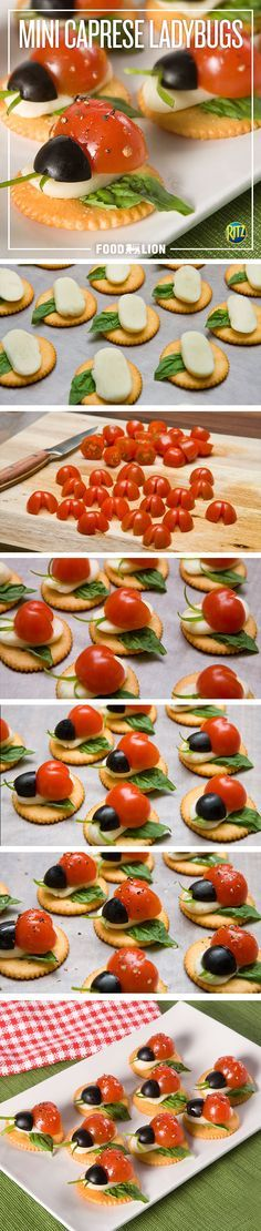 You'll love these tiny versions of a Caprese salad. They're a great appetizer to make for spring!