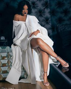 Cool collab: Yesterday, Rihanna's third and final collaboration with Manolo Blahnik hit stores