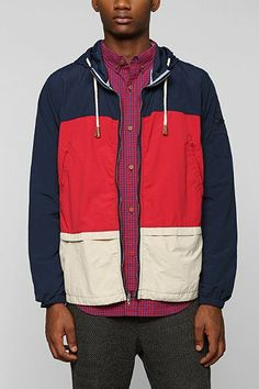 CPO Nylon Colorblock Jacket - Urban Outfitters