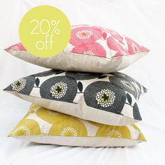 SPECIAL - 40x40cm cushion covers in Flower Fields