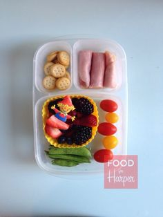 Fall Fruit in an @EasyLunchboxes container. #foodforharper #bento