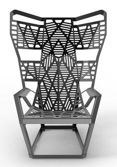 14 GA Chair by James Piatt