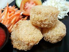 Indonesian Chicken Recipe, Indonesian Food, Indonesian Recipes, Japanese Recipes, Chicken Katsu Recipes, Chicken Mushroom Recipes, Easy Dinner Recipes, Snack Recipes, Cooking Recipes