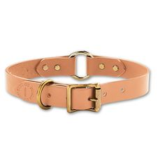 Filson leather dog collar, $36