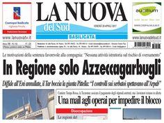 Stampa Lucana rubrica di Onda Lucana by Antonella Lallo.  Immagine del giorno tratta dal quotidiano La Nuova del Sud.🤣