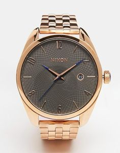 Nixon Bullet Rose Gold Watch