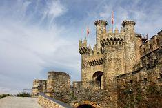 A Texan in Spain: Photo Post: Pinchos & Castles in Ponferrada, Spain. Beautiful Castles, Medieval Castle, Tower Bridge, Spain, Travel, Image, Shots, Cartagena, Buildings