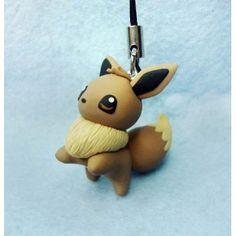 Eevee, Keychain,mobile accessories,llavero,colgante de movil,anime,manga,pokemon,
