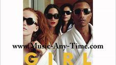 Pharrell Williams Come Get It Bae feat Miley Cyrus - Girl 2014 #Lyrics