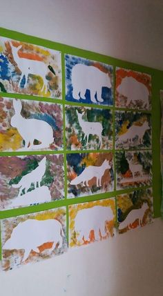 Animal artwork perfect for Kindergarten during your animal unit