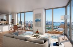 New renderings of Brooklyn's tallest tower show super-swanky a...