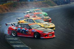 4 car drift