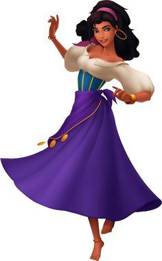 Esmeralda from Disney's Hunchback of Notre Dame