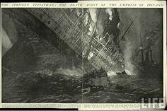 Empress of Ireland sinking