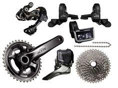 Shimano, junto con Sram, es uno de los principales fabricantes de transmisiones para bicicletas de montaña. Vamos a ver cuál es su gama de productos.