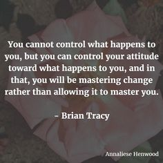 This great quote from Brian Tracy gives me the motivation to maintain a positive attitude - not just in general but in life's difficult changes. Change can be a challenge we don't want to face but with a positive attitude you can do it. Don't let change overwhelm you but rather face it with optimism and determination. That's the key to mastering change. #quote #quotes #quoteoftheday #quotestoliveby #quotesaboutlife #inspiring #inspired #inspiration #inspirationalquotes #inspirational…