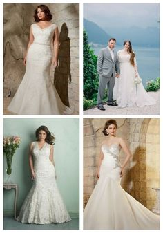 41 Adorable Plus-Size Wedding Gowns That Excite #adorable #plus #size #wedding #gowns #excite