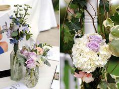 Ceremony flowers. Venue: La Venta Orange County Destination Wedding Photography Blog   Gavin and Erin Wade » Husband and Wife