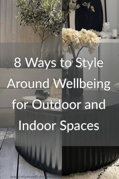 8 Ways to Style Around Wellbeing for Outdoor and Indoor Spaces - With Habitat (ad) Natural Plates, Messy Room, Picnic In The Park, Slow Living, Garden Planters, Garden Furniture, Natural Light, Habitats, At Home Workouts