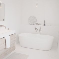 • L A Z Y sunday • bathroom studioww • #bathroom #interior #whiteliving #wood