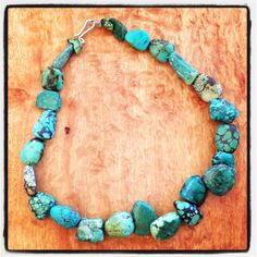 Antique Tibetan turquoise beads from Tibet and Bhutan from therareandbeautiful collection