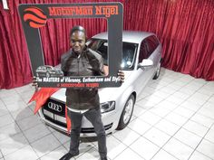 Mr Mkhwanazi taking delivery of his Audi A3! 🚗 We only post pictures with permission of the client #permissiongranted #WeGetYouMoving #AnotherSuccessfulDelivery #SatisfiedClients #FinanceAvailable #ThroughAllMajorBanks #TheMotorManWay #TheMotormanEffect #motorman #cars #nigel #Audi #A3 #Hatch  For the best deals call us now at: 011 814 1729 Whatsapp us now at: 083 784 0258 Or Email us on: leads@motorman.co.za Proudly brought to you by MotorMan! 🚗