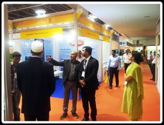 CG & Consul visiting stands of PMV participants