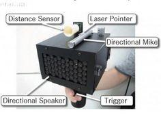 Japanese researchers invent gun that silences speech