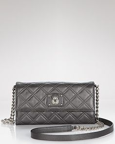 Marc Jacobs Crossbody - Iconic Quilted Ginger | Bloomingdale's