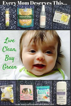Every Mom Deserves This... Live Clean, Buy Green with Ecocentric Mom Subscriptions |Food Your Body Will Thank You For