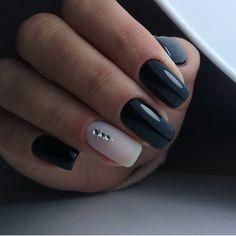 Маникюр | Ногти Ink Addiction, Blue Nails, Gorgeous Nails, Mani Pedi, Nail Artist, Hair And Nails, Acrylic Nails, Nail Designs, Make Up