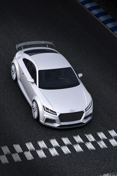 New Audi TT Coupe Mans Up with 414HP Quattro Sport Concept - Carscoops