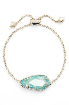 Kendra Scott 'Cambel' Line Bracelet Opal Jewelry, Jewelry Box, Unique Jewelry, Jewellery, Kendra Scott Bracelet, Turquoise Bracelet, Pendant Necklace, Crystal Necklace, Bling