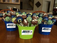 Live Laugh Puke: Super Bowl Party Ideas for I'm glad I finally heard the. - Live Laugh Puke: Super Bowl Party Ideas for I'm glad I finally heard the Seahawks aren' - Seattle Seahawks, Seahawks Game Day, Seahawks Fans, Seattle Sounders, Super Bowl Party, Football Birthday, 11th Birthday, Birthday Bash, First Birthdays