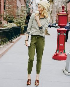 Stockholm Pants in French Terry | Womens Bottoms