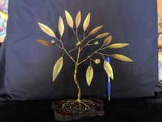 olive tree /metal work /Greek olive tree / by MetalCraftStudio Greek Olives, Tree Bark, Olive Tree, True Beauty, Metal Art, Metal Working, Planter Pots, Bronze, Colours