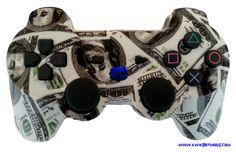 KwikBoy Modz - Cash Money DualShock 3 PS3 Controller, $79.99 (http://www.kwikboymodz.com/cash-money-dualshock-3-ps3-controller/)