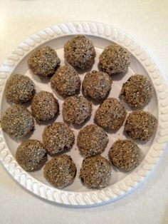 Gold-encrusted Chocolate Truffles