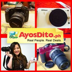 Over Ayos buyers are looking for pre-loved cameras on AyosDito. Sell yours now. Philippines, Nikon, Cameras, Gadgets, Ads, Camera, Gadget, Film Camera