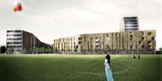 OPERASTUDIO - Project - Medici del Vascello 14 Social Housing #Milan #render #balloon  #free