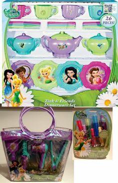 Disney Fairies Tink & Friends Deluxe Tea Party & Glamour Set Disney.