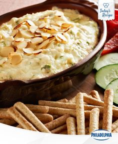 Interestingly enough, no one gets crabby when they're eating crab dip.