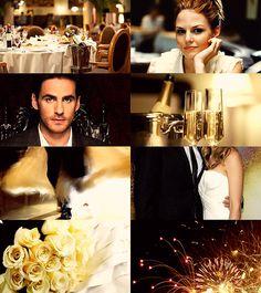 Killian and Emma, a fairy tale wedding by KeiSi-X on deviantART